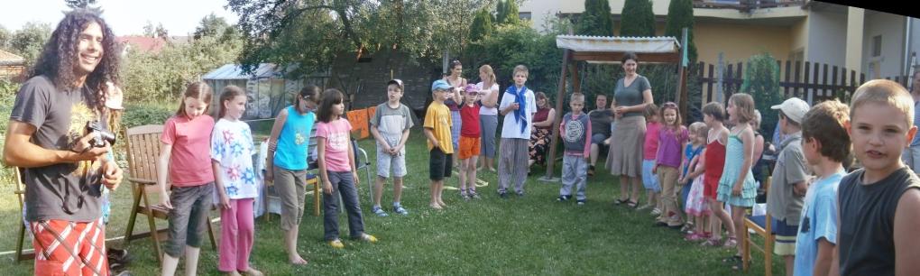 Naše přední hlídka v červnu 2012